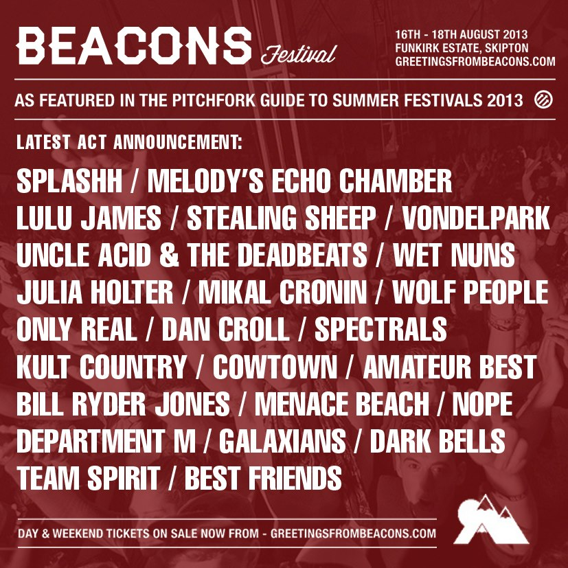 GALAXIANS ANNOUNCED FOR BEACONS!!