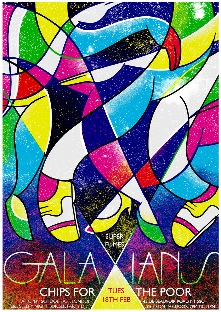 GALAXIANS // BODYBEAT February Tour Dates