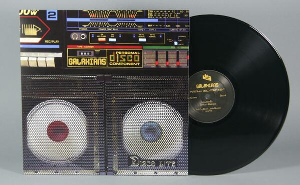 GALAXIANS – Personal Disco Component EP on Dither Down Records (NYC)