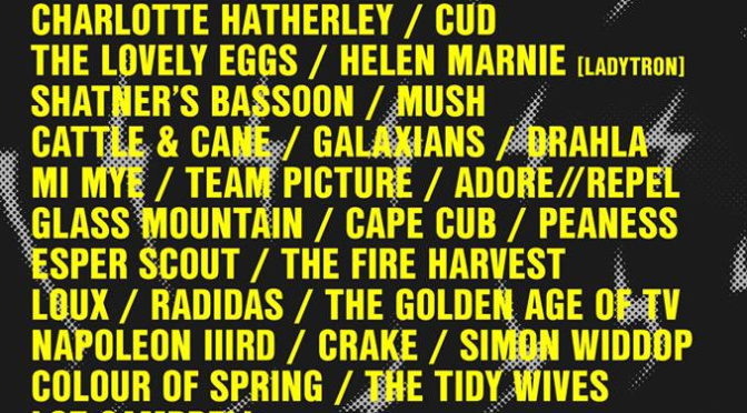 LONG DIVISION 2018: GALAXIANS ANNOUNCED IN FIRST WAVE OF ACTS FOR THIS YEAR'S FESTIVAL